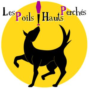 Logo Les poils hauts perchés - Hugo L Mago - Nantes