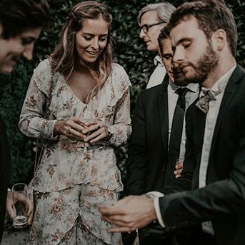 Close up mariage Nouveau tour de magie- Hugo L Mago - Nantes