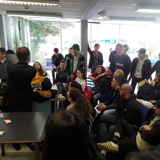 tours magie écoles - Hugo L Mago - Nantes
